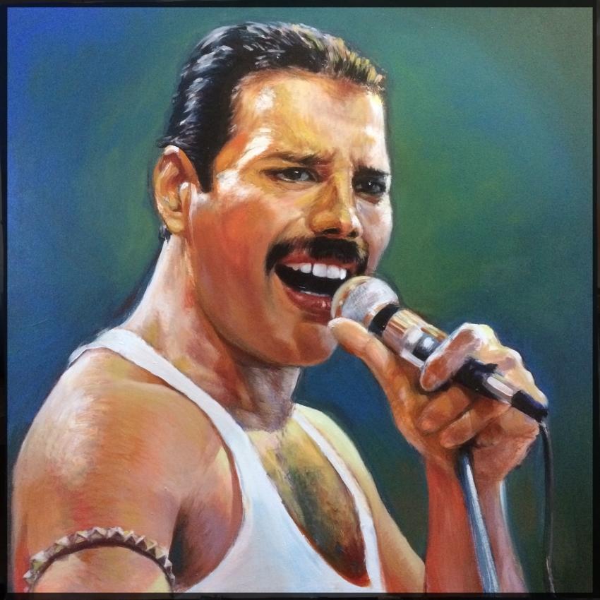 Freddie Mercury par marius